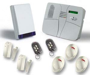 visonic wireless alarm